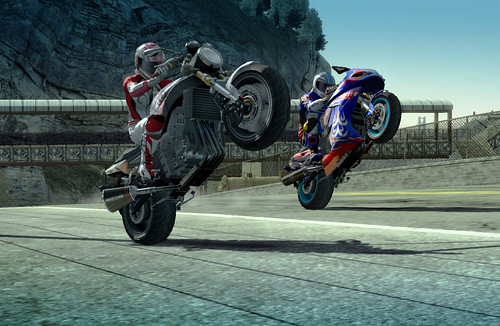 Bike Games For Ps3 ever in a Burnout game