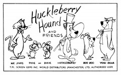 Huckleberry Hound and Friends (gawex) Tags: bear friends hound pixie boo yogi portal dixie hb huckleberry hannabarbera mrjinks