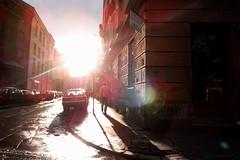 lensflare in Krakow