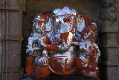 Ganesh at Chittorgarh (Koshyk) Tags: india fort ganesh rajasthan ganapati chittorgarh siddhivinayak elephantheadedgod