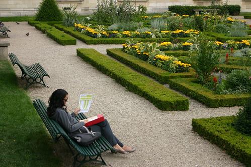 Saint Merri's Garden