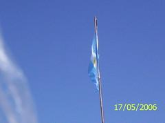 Cataratas del Iguazú - Argentina  / Iguazu Falls - Argentina: mi querida bandera de Argentina (♥  evelyn  ♥) Tags: misiones iguazufalls cataratasdeliguazú