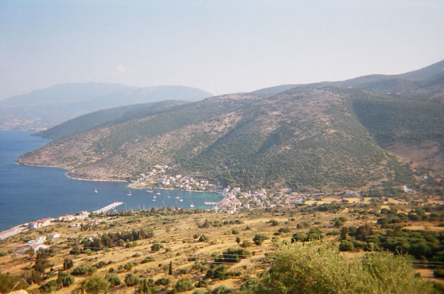 View of St. Efimia from the Kalo Mountain