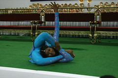 Yoga Princess (YY) Tags: india yoga performance competition posture poses asana jamshedpur