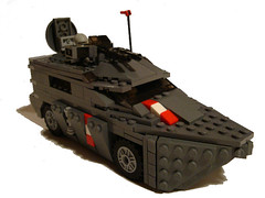 Amphibischen groen Auto: title 2 (.Jake) Tags: car truck lego military royal amphicar amphibious austrian moc ramm bley mechanised royalaustrianmechanisedmilitary