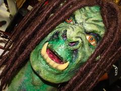 Orc/Troll (wyldanthem) Tags: vacation costume mask indianapolis indiana gencon troll orc ilovegreen