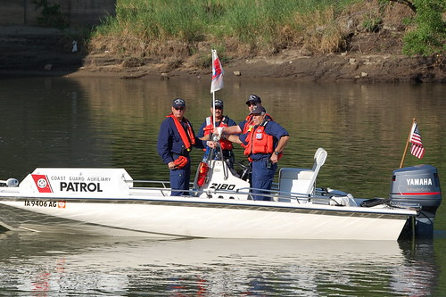 US Coast Guard Flotilla 4 of Des Moines Iowa