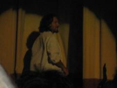 Eddie in lab coat (Make Lemons) Tags: dc solo 2008 eddievedder warnertheater