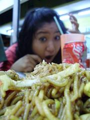 food and nette (harold reagan eswar) Tags: reagan makan eswar akitekepalayam