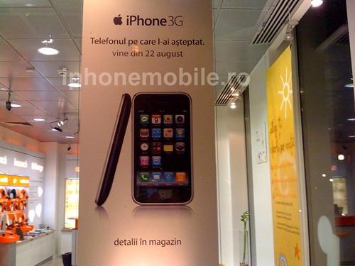 iPhone in Romania 22 august 2008
