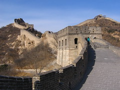 At Badaling (betta design) Tags: china wall canon wow beijing powershot explore creativecommons greatwall badaling muralha pequim a410 dazzlingshots