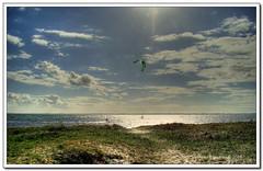 kites at Lynaes (Andrea Rapisarda) Tags: sea kite nature denmark surf mare natura kites explore kitesurf hdr explored lynaes andrearapisarda
