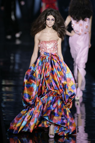 dior fall ready to wear dress floral