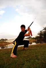 releitura - herói (carolfe) Tags: kungfu irmão espada parquedacidade