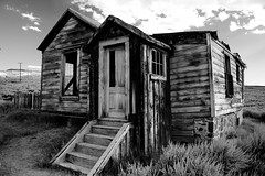 Touch of Red in B&W (Paul.W) Tags: california ghosttown bodie roadtrip08