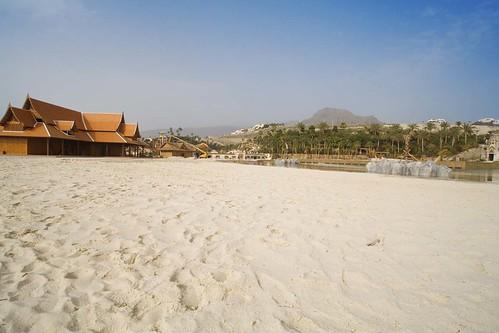 Siam Park beach