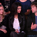 Mary-Kate Olsen, Jessica Szohr and Chace Crawford at the Rock & Republic Show at New York Fashion Week