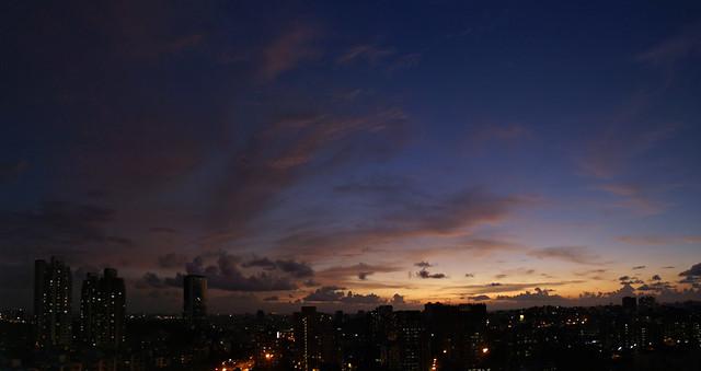 Sunset, Goregaon.