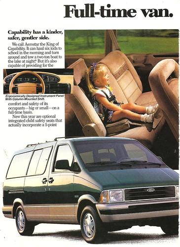 Ford Aerostar 1992. 1992 Ford Aerostar