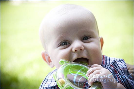 ChristanP photo - baby Bradley with toy