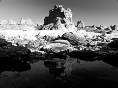 Parallel Realms (B&W) (JRaptor) Tags: blackandwhite reflection castle landscape sweden stockholm swedish palace gotland 1001nights daguerreotype blackdiamond scandanavia bej abigfave blackwhiteaward platinumheartaward artlegacy elitephotography