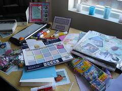 Scrapbook Table