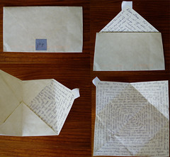 Spiral joy letter (Missive Maven) Tags: writing spiral post mail snail envelope letter fountainpen postal fold write 2008 snailmail penpal