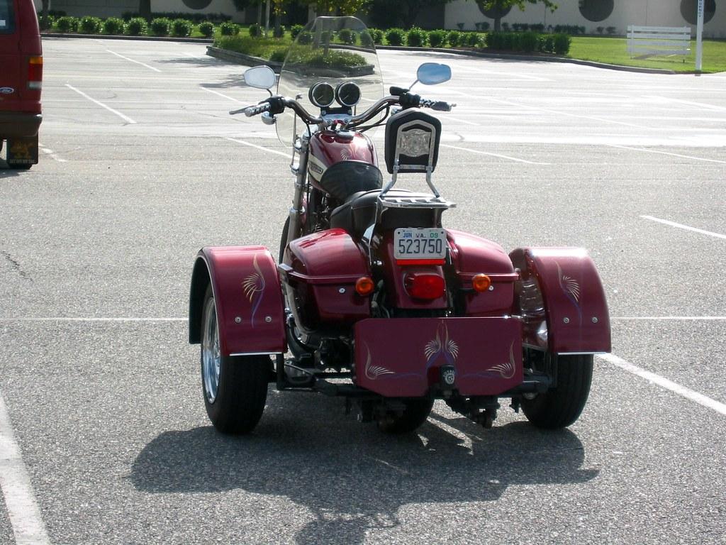 Harley Davidson Sportster 4-Wheeler