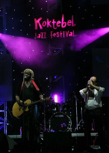 Geoffrey Oryema, Aleksandr Gordeev Koktebel Jazz Festival 2008