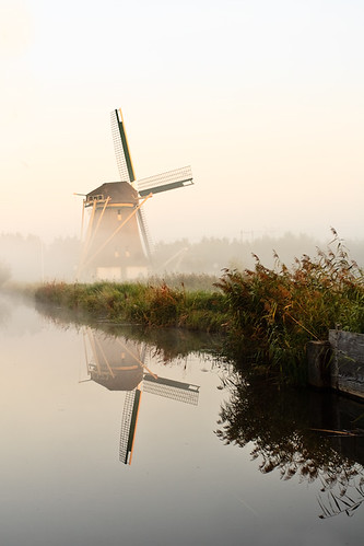 Windmill De Onrust, Muiden, The Netherlands