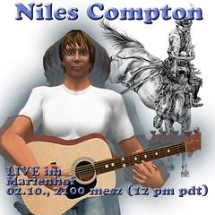 Niles Compton live in MünchenSL