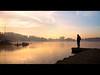 The Journey (PhilB_PbArtWorks) Tags: mist fog sunrise canon dawn boat shropshire hdr ellesmere philb dapagroup dapagroupmeritaward dapagroupmeritaward3 dapagroupmeritaward5 dapagroupmeritaward4 dapagroupmeritaward2 pbartworks shropshiredawn