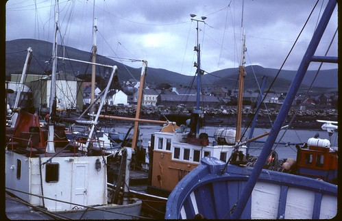 Dingle, Co. Kerrly Ireland grey day 1979 or 80