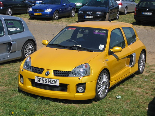 Sport And Car View Renault Clio V6 Sport
