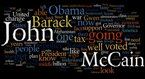 Biden VP Debate Word Cloud