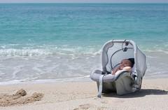 sea baby sun beach water sand chair surf iran kish juju persiangulf delaram