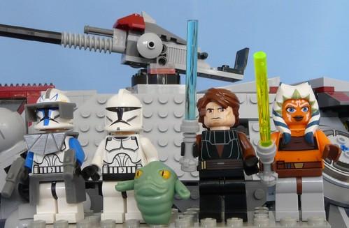 star wars ahsoka and rex. Star Wars Lego 7675 AT-TE 11