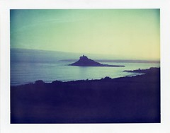 . (Rebecca...) Tags: uk film polaroid cornwall stmichaelsmount tennyson expired2003 polaroidlandcameraautomatic450 filmiduv80asa