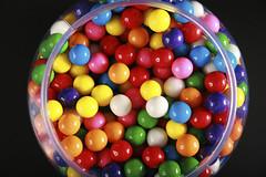 2020vision (ruralnet) Tags: texture blackbackground gum circle colorful candy sweet many vibrant treats balls tub round jar bubblegum chewinggum lots gumballs viewfromabove candyjar hundreds 2020vision