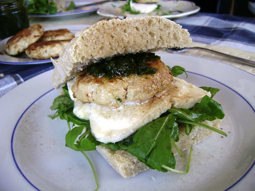Homemade Chicken Burger by Mrs Q: