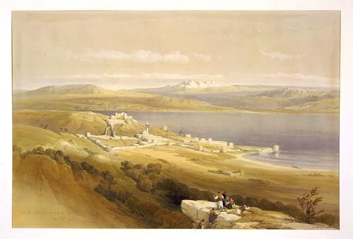 005-Ciudad de Tiberíades a orillas dell Mar de Galilea