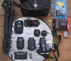 All I want for Christmas is a much bigger kit bag! (Kate Shephard) Tags: macro 50mm equipment crumpler lensbabies reflector kitbag sekonic sigma1020 nikon55200mm creativeaperture nikond40x prettyboyxxl sekonicl308s calumettripod