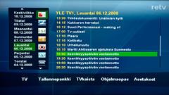 TVkaistan ohjelmavalikko