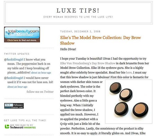 "Luxe Tips • <a style=""font-size:0.8em;"" href=""http://www.flickr.com/photos/13938120@N00/3121955163/"" target=""_blank"">View on Flickr</a>"