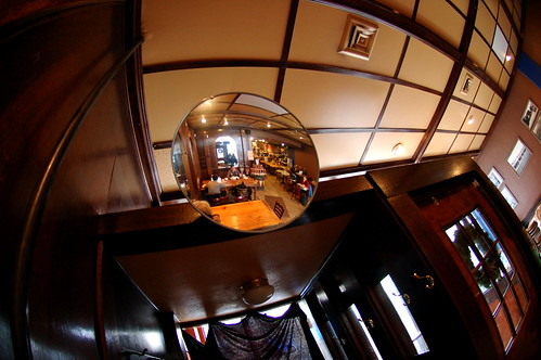 The Double Fisheye Effect