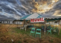 A Good Ol' Texas Revival (Stuck in Customs) Tags: sunset people panorama art love church lines clouds composition fun photography intense nikon colorful pretty shoot artist mood texas photographer shot angle image unique background preacher details religion joy perspective picture dramatic christian edge processing gathering pro framing portfolio roadside capture drama tones hdr texan brenham treatment revival goodtime radneyfoster radney stuckincustoms d3x treyratcliff entj