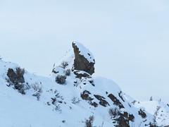 Boulder on the edge.