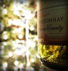 New Year's Eve, 2009 (Atom #28) Tags: christmas new macro canon photography gold lights bottle interesting pretty wine bokeh year gimp powershot years spokanewashington scribner sx110 bej sx110is canonpowershotsx110is scribnerphotography