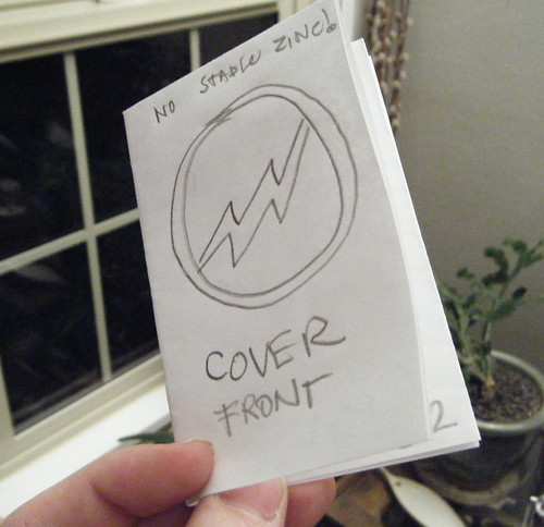 1 DIY No-staple Mini Comic Zine