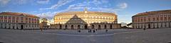 Piazza del Plebiscito, Naples (Slybacon) Tags: italy autostitch panorama naples palazzoreale piazzadelplebiscito autopanopro hccity